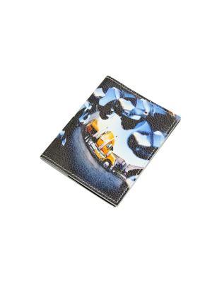 Обложка для автодокументов Кажан. Цвет: голубой