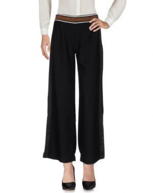 Повседневные брюки KING KONG. Цвет: черный