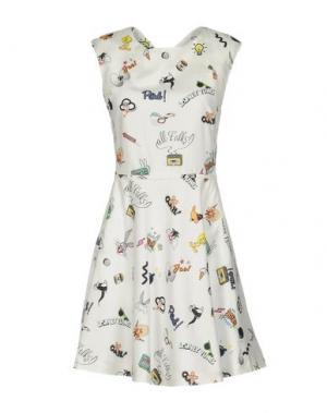 Короткое платье PAUL & JOE SISTER. Цвет: белый