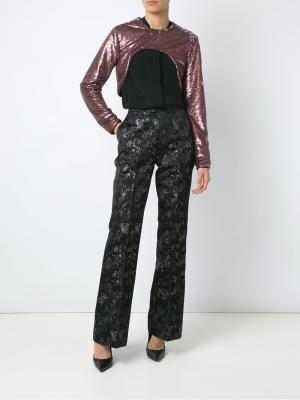 Расклешенные брюки с принтом Tufi Duek. Цвет: none