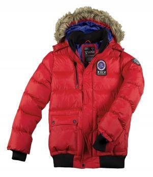 Куртка XLAND «Оптимальная Защита» AFM. Цвет: красныи