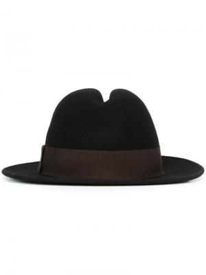 Фетровая шляпа Antonio Marras. Цвет: чёрный