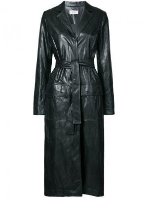 Belted trench jacket Nomia. Цвет: чёрный