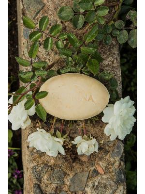 Натуральное мыло Эвкалиптовое Siberina. Цвет: бежевый