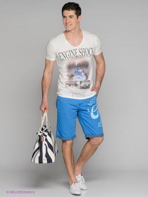 Бермуды Cars Jeans. Цвет: синий