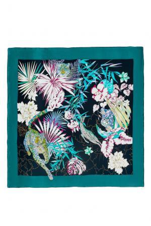 Шелковый платок 183382 Moltini. Цвет: разноцветный