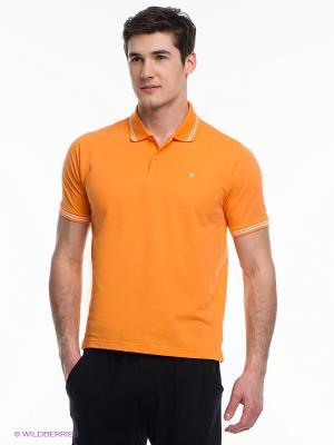 Футболка-поло CHAMPION. Цвет: оранжевый