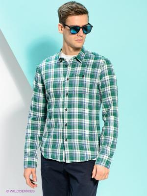 Рубашка PEPE JEANS LONDON. Цвет: зеленый