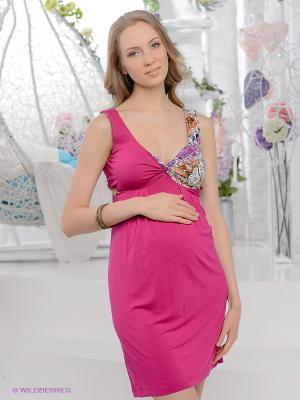 Платье UNIOSTAR. Цвет: фуксия