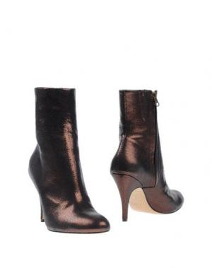 Полусапоги и высокие ботинки NORA. Цвет: бронзовый