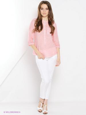 Блузка Hass. Цвет: розовый
