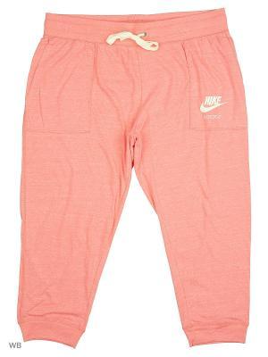 Капри W NSW GYM VNTG CPRI EXT Nike. Цвет: розовый