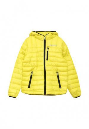 Куртка утепленная Blukids. Цвет: желтый