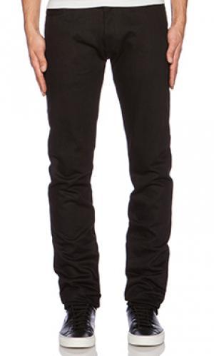 Зауженные облегающие джинсы 3sixteen. Цвет: none