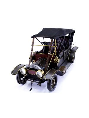 Коллекционная модель авто Ретро essentic. Цвет: черный