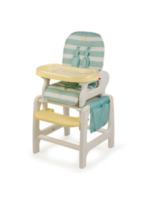 Стул для кормления Happy Baby Oliver V2. Цвет: голубой
