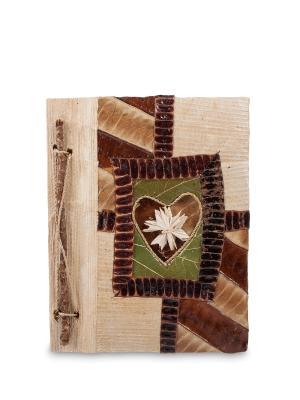 Блокнот Любви прекрасные моменты ср. (о.Бали) Decor & gift. Цвет: коричневый, зеленый