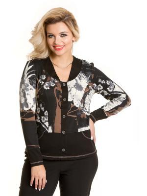 Блузка VENUSITA. Цвет: черный