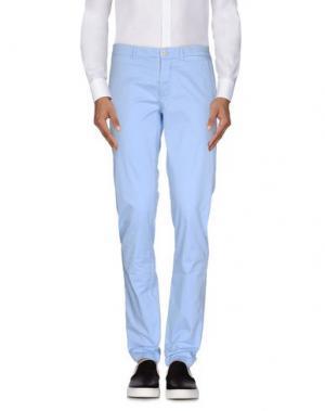 Повседневные брюки YOON. Цвет: небесно-голубой