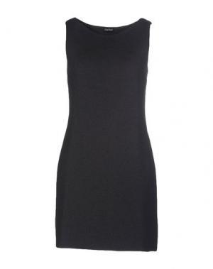Короткое платье CHARLOTT. Цвет: свинцово-серый