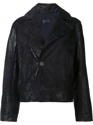 Куртка Cropped Moto Judson Harmon. Цвет: чёрный