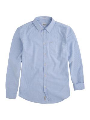Рубашка DATE PEPE JEANS LONDON. Цвет: голубой