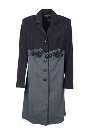 Пальто VIA TORRIANI 88. Цвет: серый
