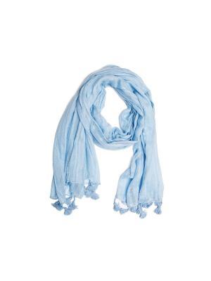 Шарф Kameo-bis. Цвет: голубой