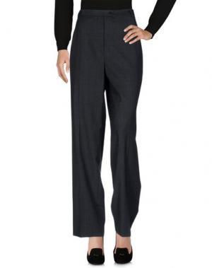 Повседневные брюки GIAB'S. Цвет: свинцово-серый