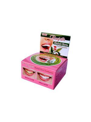 Травяная зубная паста Райсан с гвоздикой 25гр Rasyan. Цвет: розовый
