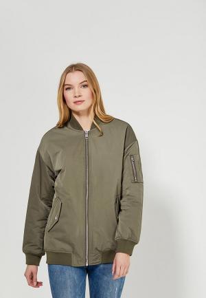Куртка утепленная Calvin Klein Jeans. Цвет: хаки
