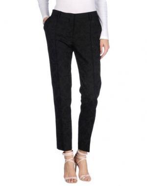 Повседневные брюки G.T.A. MANIFATTURA PANTALONI. Цвет: черный