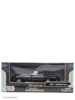 Автомобиль 1967 Corvette Motormax. Цвет: черный