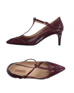 Туфли GAIA D'ESTE. Цвет: пурпурный