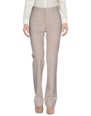 Повседневные брюки BOULE DE NEIGE. Цвет: темно-коричневый