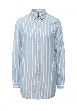 Рубашка Influence. Цвет: голубой