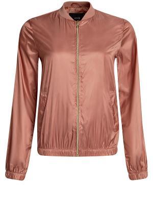Куртка Oodji. Цвет: бежевый