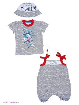 Комплект одежды Апрель. Цвет: серый