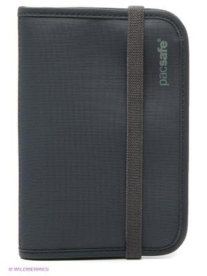 Кошелек PacSafe RFID-tec. Цвет: темно-серый