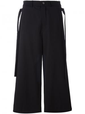 Укороченные брюки Ponte Damir Doma. Цвет: чёрный