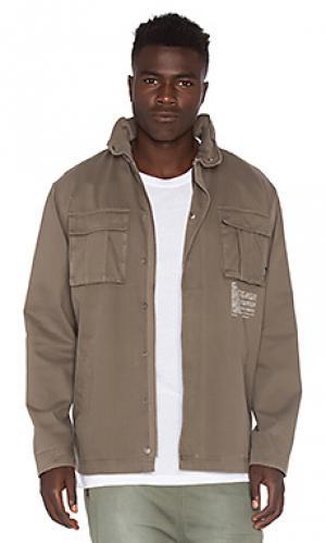 Куртка fatigue I Love Ugly. Цвет: коричневый