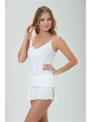 Пижама MARIPOSA. Цвет: кремовый