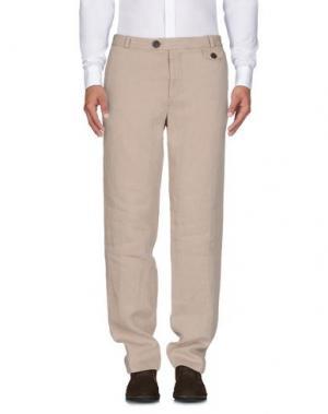 Повседневные брюки OLIVER SPENCER. Цвет: бежевый