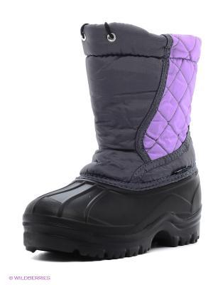 Дутики Janett. Цвет: фиолетовый