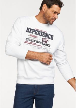 Толстовка MANS WORLD MAN'S. Цвет: белый