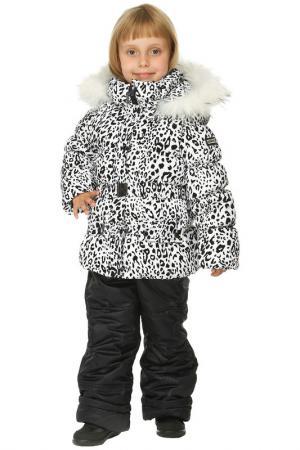 Комплект Top Klaer. Цвет: белый леопард