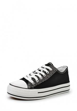 Кеды Ideal Shoes. Цвет: черный