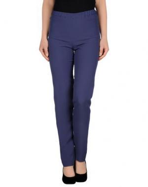 Повседневные брюки N_8. Цвет: грифельно-синий