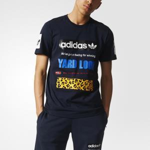 Футболка Street Graphic  Originals adidas. Цвет: черный