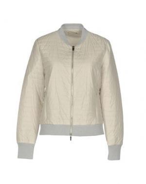Куртка BRUNO MANETTI. Цвет: светло-серый